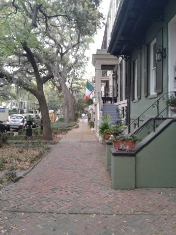 Jones Street_Irish flag